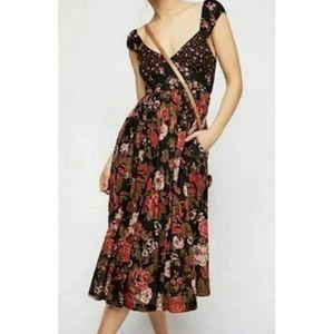 Free People | Love You Midi Dress | Size XS
